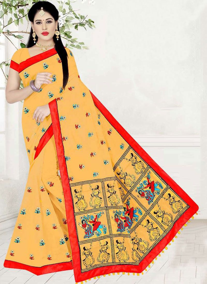 Printed Printed Saree