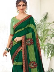 Printed Saree Abstract Print Weight Less in Multi Colour