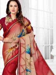 Printed Saree For Ceremonial