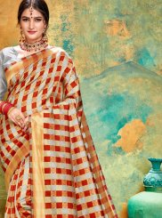 Printed Saree For Sangeet