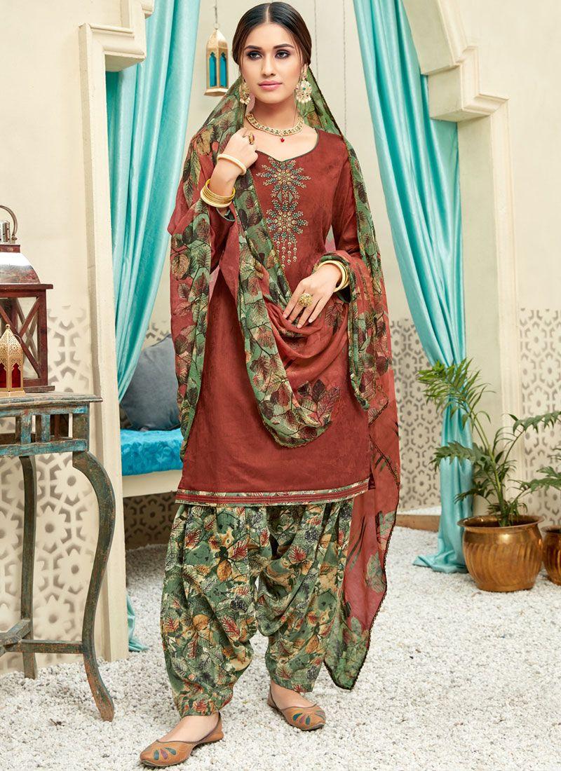 Punjabi Suit For Casual