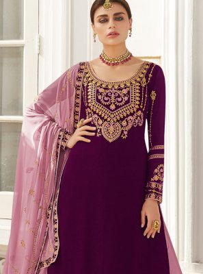 Purple Color Readymade Lehenga Choli