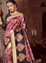 Purple Reception Classic Designer Saree