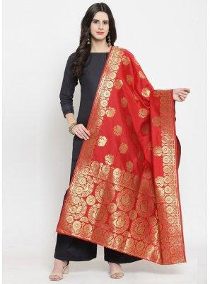 Rani Art Banarasi Silk Designer Dupatta