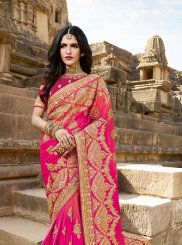 Rani Satin Silk Classic Saree