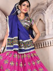 Rayon Lehenga Choli in Multi Colour