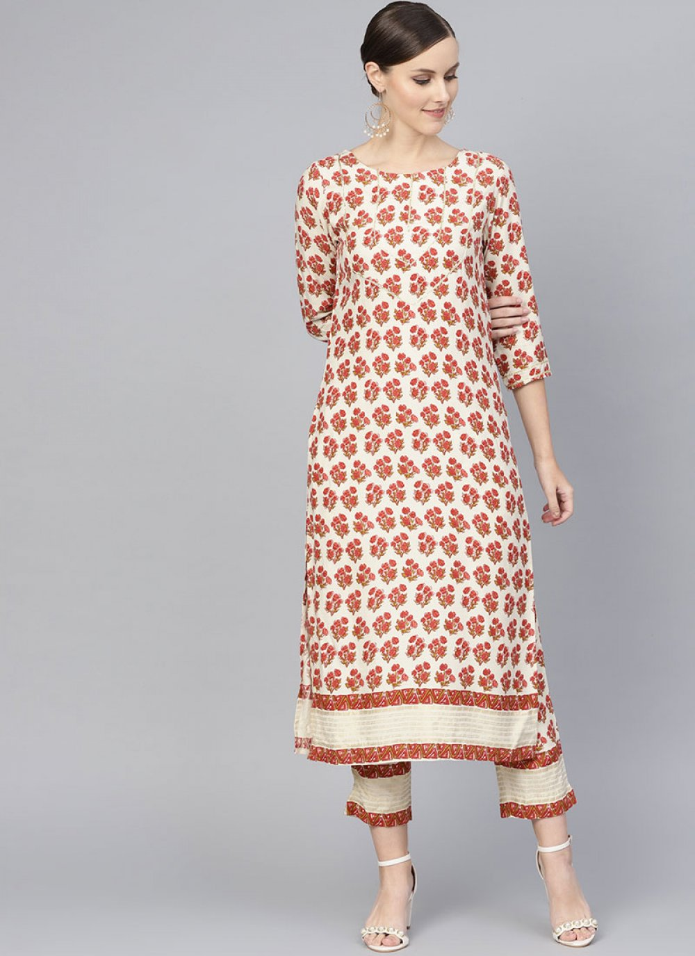 Rayon Party Readymade Designer Suit