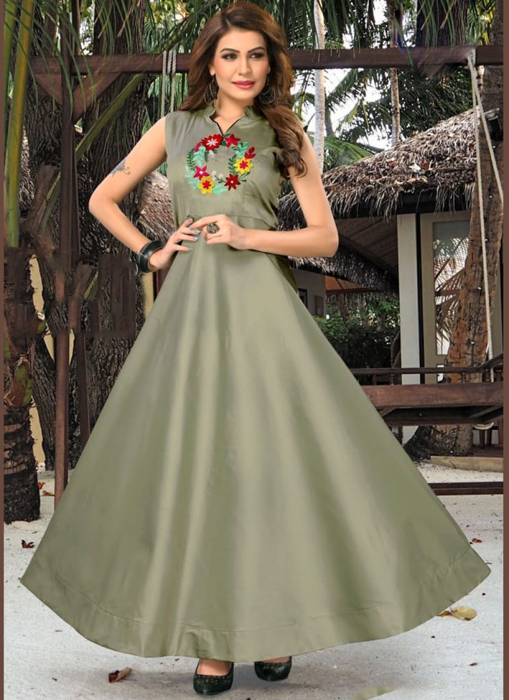 Readymade Gown  For Party
