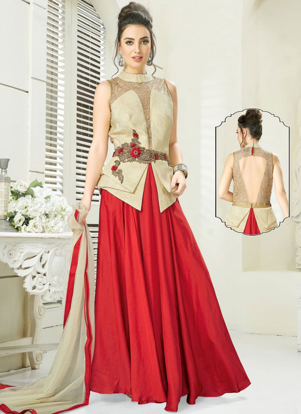 Readymade Gown For Reception