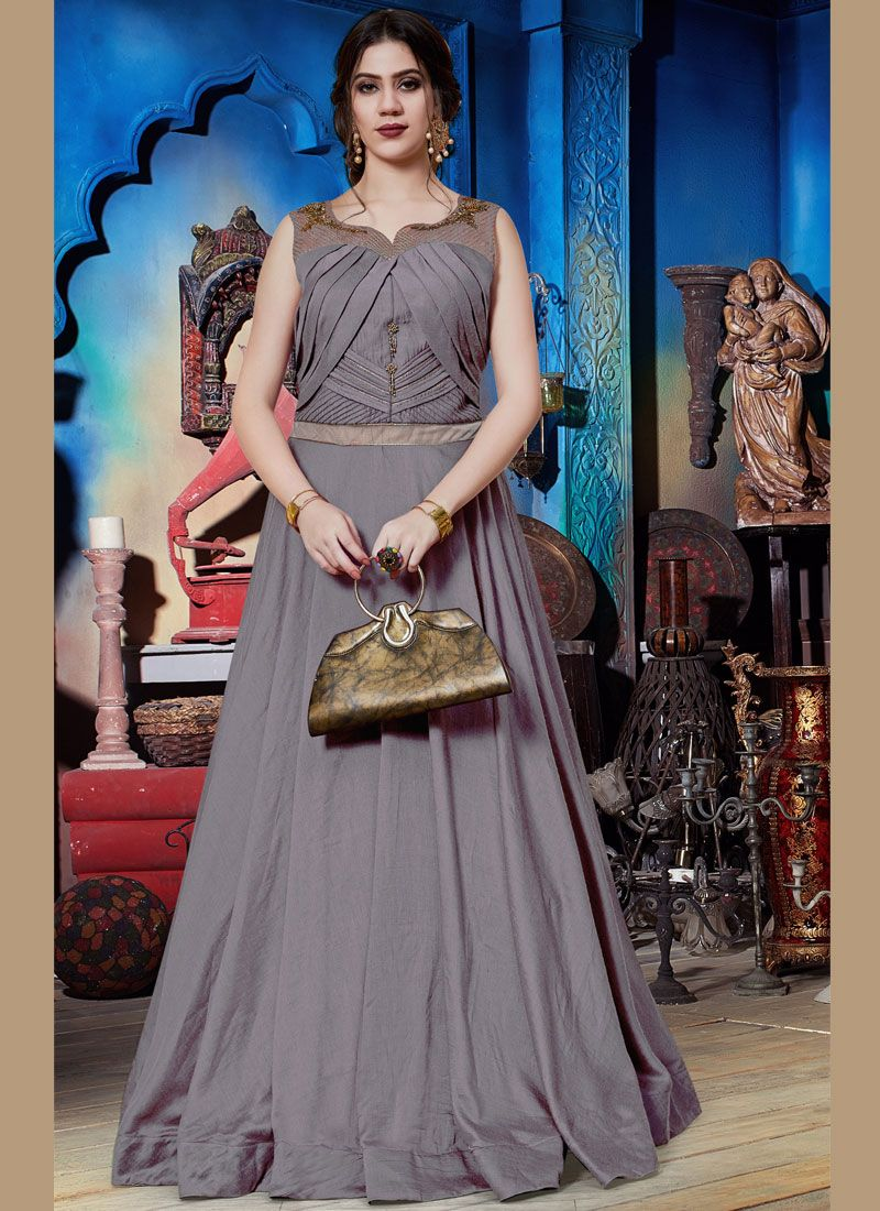 Readymade Trendy Gown  For Festival