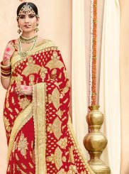 Red Classic Saree