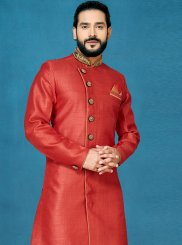 Red Color Indo Western