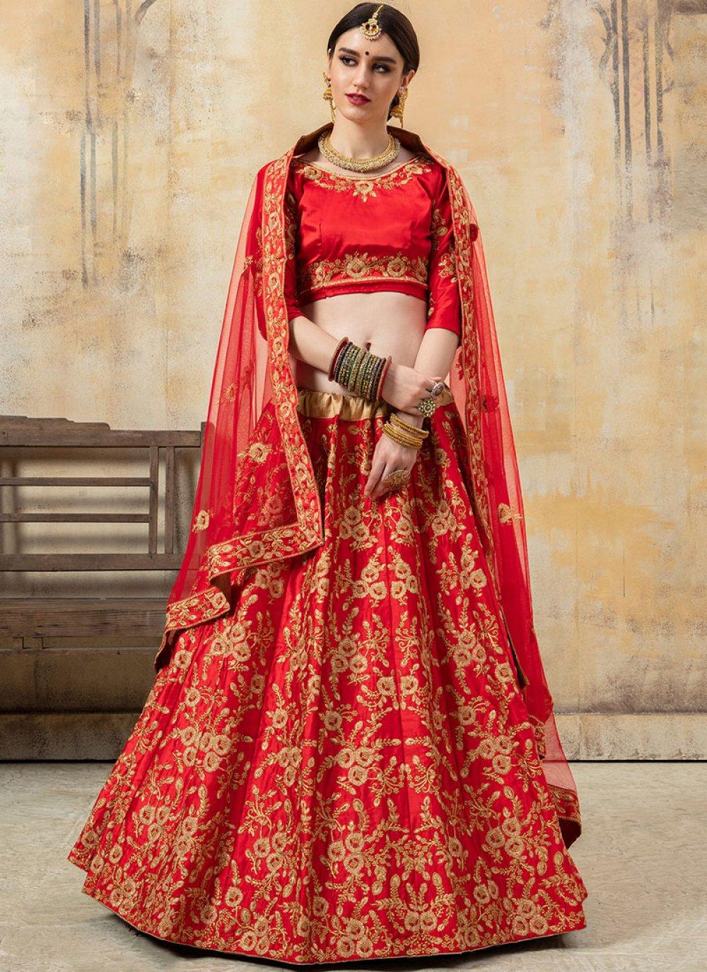Red Color Lehenga Choli