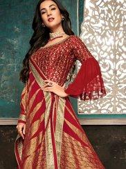 Red Reception Designer Salwar Suit