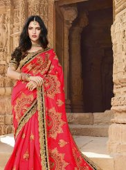 Red Silk Classic Saree
