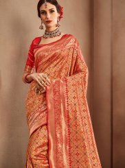 Red Weaving Wedding Designer Bridal Sarees