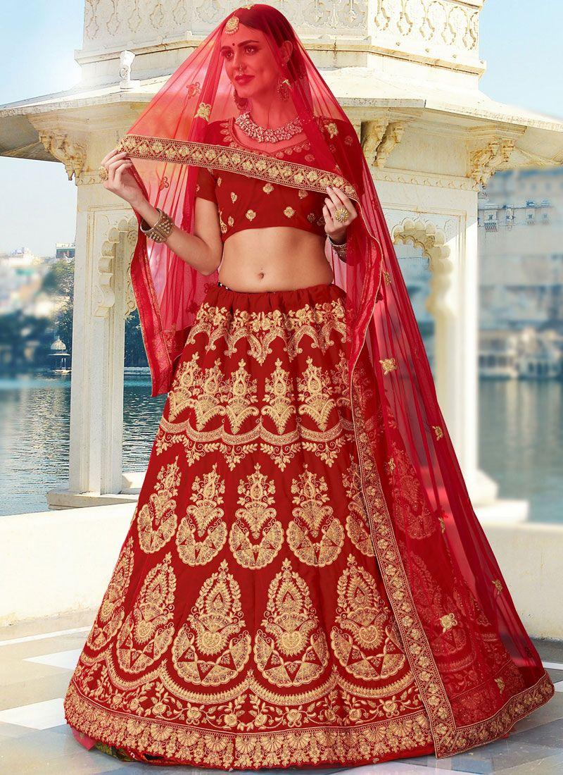 Bridal Lehenga Red Off 76 Buy