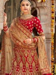 Red Wedding Trendy Designer Lehenga Choli