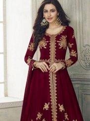 Resham Anarkali Salwar Kameez