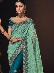 Resham Bridal Designer Half N Half Saree