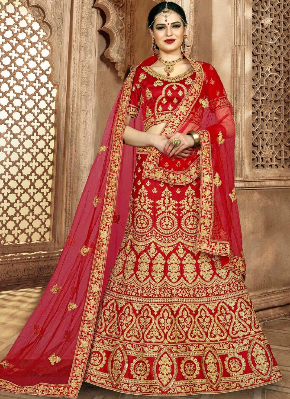 Resham Bridal Lehenga Choli