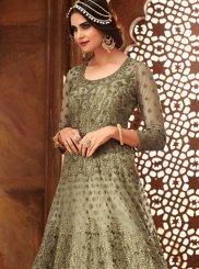 Resham Ceremonial Floor Length Anarkali Suit