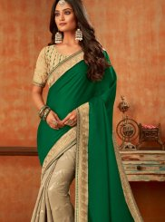 Resham Ceremonial Silk Saree