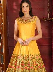 Resham Designer Gown