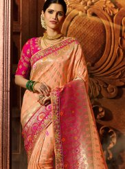 Resham Fancy Fabric Designer Traditional Saree