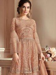 Resham Net Designer Pakistani Suit