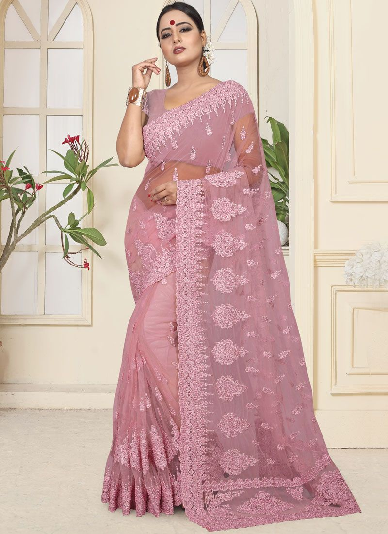Resham Traditional Designer Saree