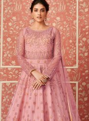Resham Wedding Floor Length Anarkali Suit