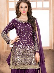 Resham Work Designer Patiala Suit