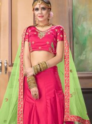 Rose Pink Designer Lehenga Choli