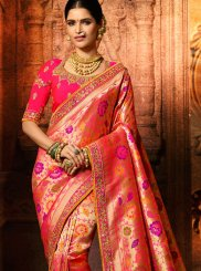 Rose Pink Wedding Classic Designer Saree