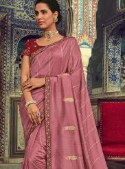 Rust Designer Traditional Saree