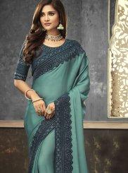 Satin Designer Saree