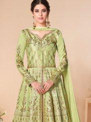 Satin Silk Anarkali Salwar Kameez