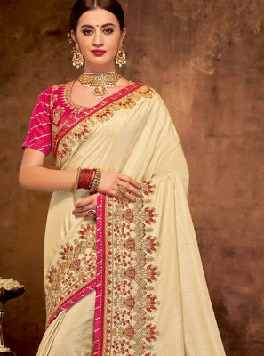 Satin Silk Bridal Classic Designer Saree