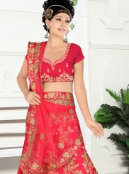 Satin Silk Party Trendy Lehenga Choli