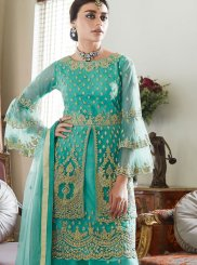 Sea Green Designer Pakistani Suit