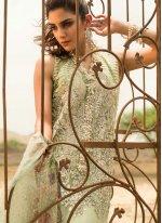 Sea Green Designer Suit