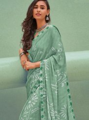 Sea Green Festival Silk Saree