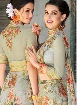 Sea Green Wedding Lehenga Choli