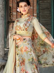 Sea Green Wedding Lehenga Choli