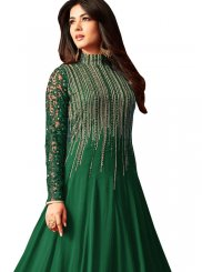 Sequins Anarkali Salwar Suit