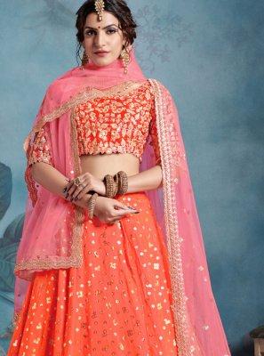 Sequins Trendy Designer Lehenga Choli