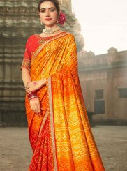 Shaded Saree For Festival