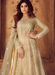 Shamita Shetty Floor Length Anarkali Suit For Ceremonial