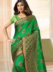 Shilpa Shetty Weaving Designer Traditional Saree